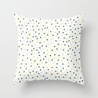 Day in the Park two Throw Pillow