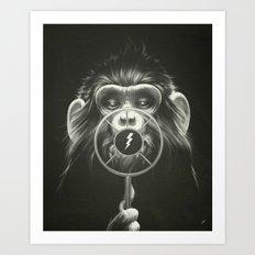 On Air Art Print