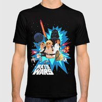 Star Wars FanArt: Rats W… Mens Fitted Tee Black SMALL