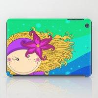 Unique, creative and very colorful, original,digital children illustration iPad Case