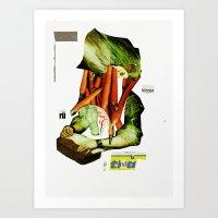 Die Gemüsefrau 3 Art Print