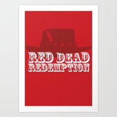 Red Dead Redemption Art Print