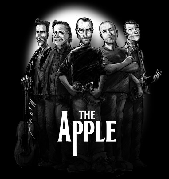 The Apple Band Art Print