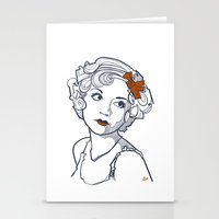 1930's Actress Alice Whi… Stationery Cards