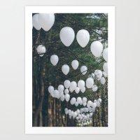 Romantic Forest Art Print
