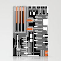 Geometric V1 Stationery Cards