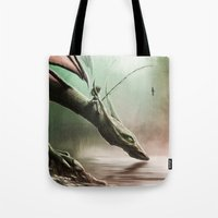 Fishing On The Drinking … Tote Bag