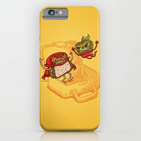 iPhone & iPod Case featuring Lunchadores by WanderingBert / David Creighton-Pester