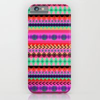 iPhone & iPod Case featuring Tribal Stripe by Amy Sia