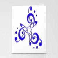 Treble Triskele Stationery Cards