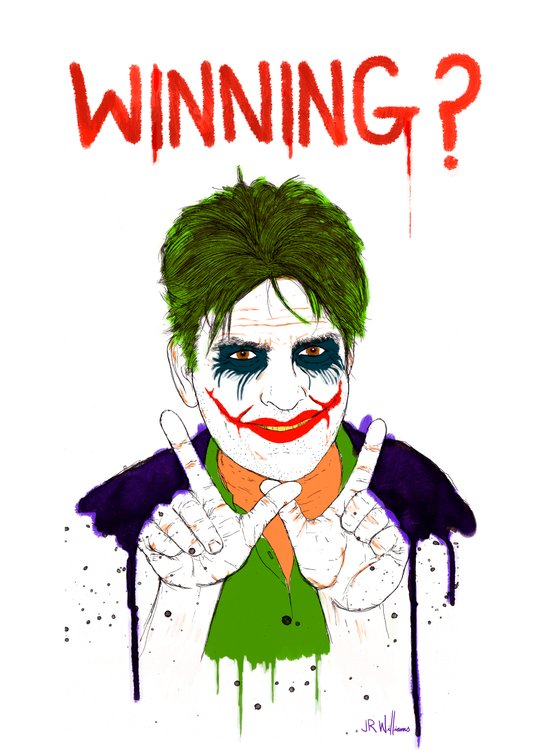 The new joker? Art Print