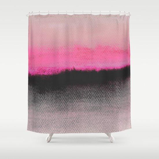 Double Horizon Shower Curtain