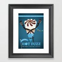 Hot Fuzz Framed Art Print