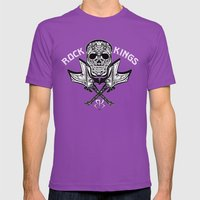 ROCKER Mens Fitted Tee Ultraviolet SMALL