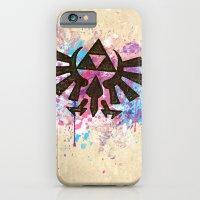 Splash Triforce Emblem iPhone 6 Slim Case