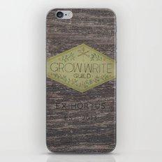 Grow Write Guild Seal iPhone & iPod Skin
