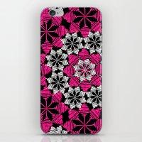 Squiggle Pink iPhone & iPod Skin