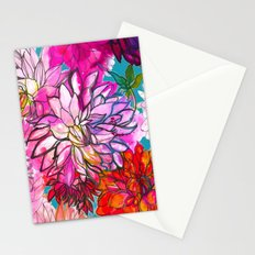 Garden of Dahlias Stationery Cards