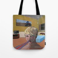 Caught A Case Of Rain Mo… Tote Bag