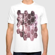 Sunrising Mens Fitted Tee White SMALL