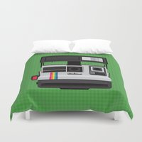 Polaroid Supercolor 635CL Duvet Cover