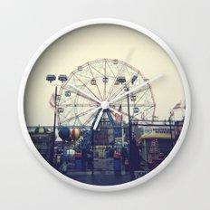 Coney Island II Wall Clock