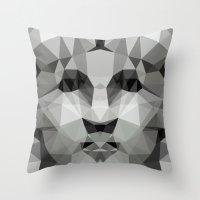 Polygon Heroes - Liberty Throw Pillow