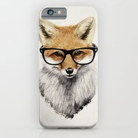 christmas iPhone & iPod Cases featuring Mr. Fox by Isaiah K. Stephens