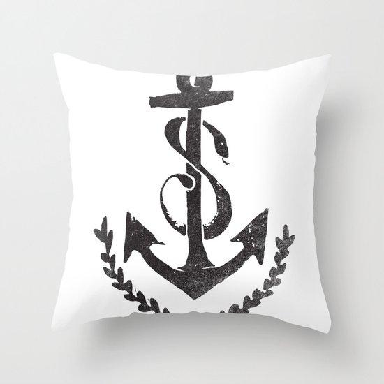 SEA MONSTER Throw Pillow