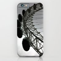 iPhone & iPod Case featuring London Eye by Christine Haynes