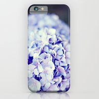 iPhone & iPod Case featuring Purple Hydrangeas by castle on a cloud