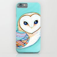 Tribal Pattern Barn Owl iPhone 6 Slim Case