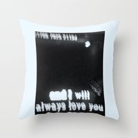 Karaoke Throw Pillow