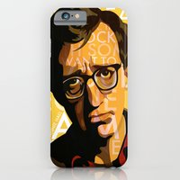 iPhone & iPod Case featuring Woody Allen - Annie Hall I by FCRUZ