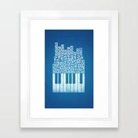 City Of Amp Framed Art Print