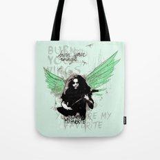 Burn Your Wings Tote Bag