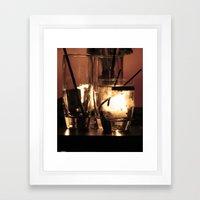 End Of The Evening Framed Art Print