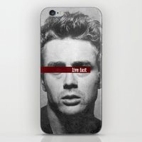 Live Fast iPhone & iPod Skin