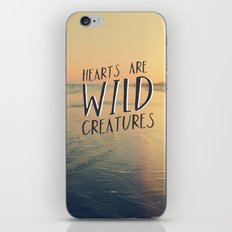 Wild Creatures iPhone & iPod Skin