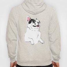 Boston Terrier Side-Eye Hoody