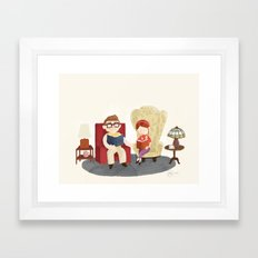 Carl And Ellie (from Pix… Framed Art Print