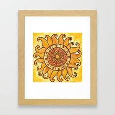Connected in Energy Framed Art Print