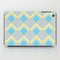 Diamond Art Deco; - Blue iPad Case