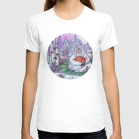 Fox Spirit Womens Fitted Tee White SMALL