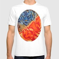 Just Gazing Mens Fitted Tee White SMALL