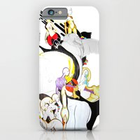 iPhone & iPod Case featuring AROUND MY MIND by Raül Vázquez