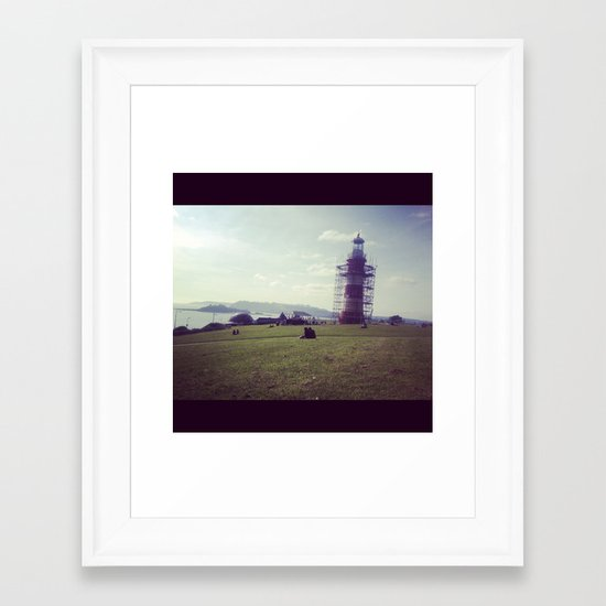 Plymouth Framed Art Print