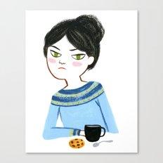 Mondays Canvas Print