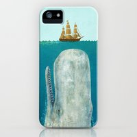 iPhone Cases featuring The Whale  by Terry Fan