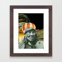 Tam Framed Art Print
